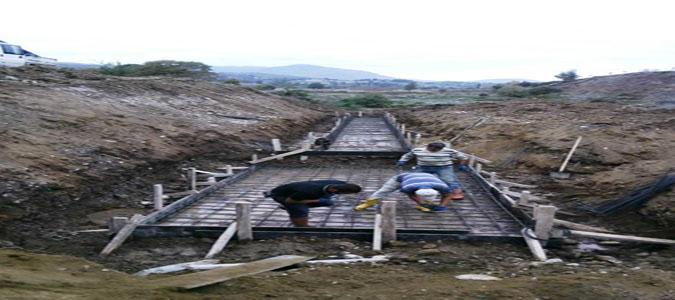 Mercimek Köyü Kapalı Sulama Sistemi Projesinin İnşası Sürüyor
