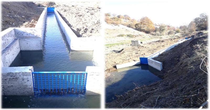 Mercimek Köyünde Kapalı Sulama Sistemi Hizmete Girdi