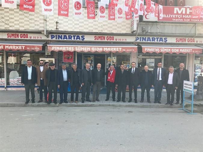 MHP'den Kurum ve Esnaflara Ziyaret