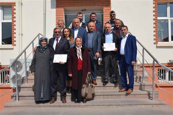 Millet İttifakı İl Genel ve Belediye Meclis Üyeleri Mazbatalarını Aldı