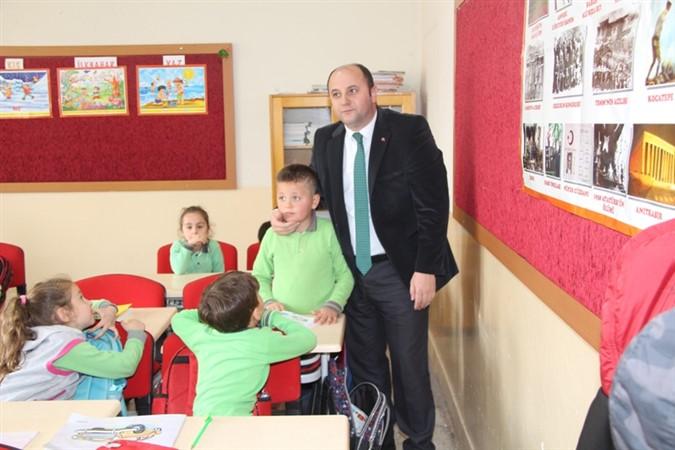 Milli Eğitim Müdürü Tümer Okul Ziyaretlerine Devam Ediyor