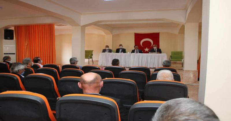 Muhtarlar ve Köylere Hizmet Götürme Birliği Toplantıları Gerçekleştirildi