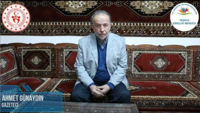 Ne Mazi Ne Ati Projesinin 4. Konuğu Gazeteci Ahmet Günaydın Oldu