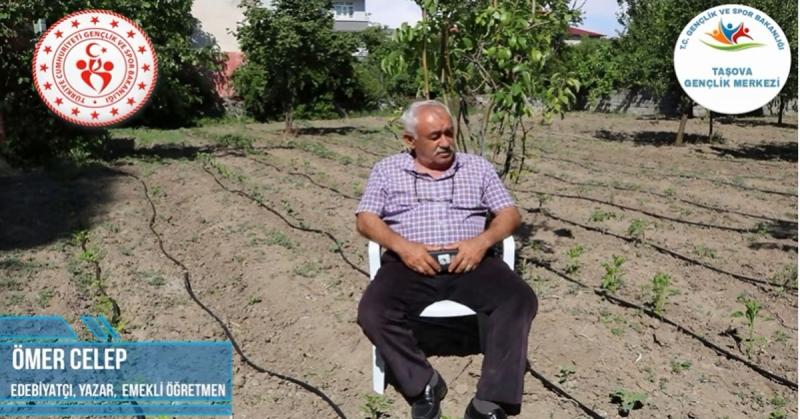'Ne Mazi Ne Ati' Projesinin 8. Konuğu Emekli Öğretmen Ömer Celep Oldu