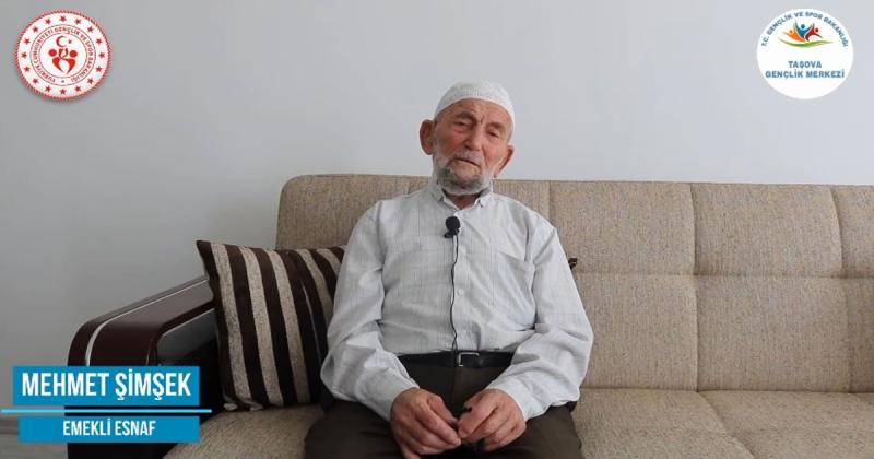 'Ne Mazi Ne Ati' Projesinin 23. Konuğu Emekli Esnaf Mehmet Şimşek Oldu