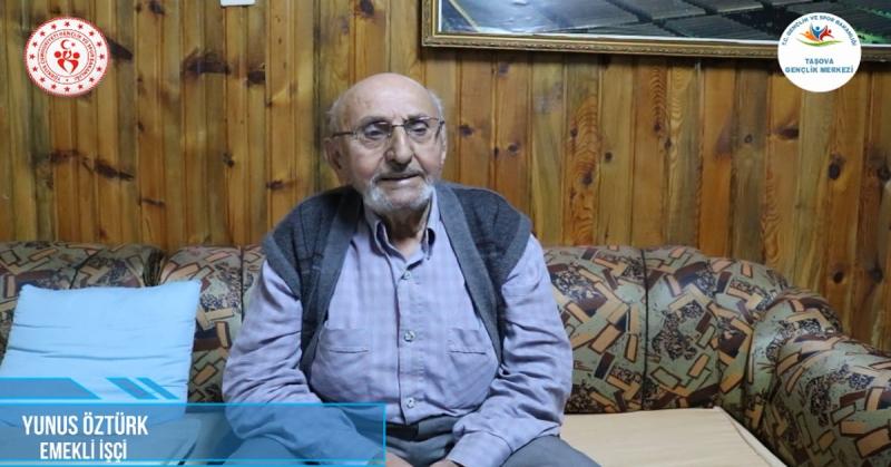'Ne Mazi Ne Ati' Projesinin 11. Konuğu İşçi Emeklisi Yunus Öztürk Oldu