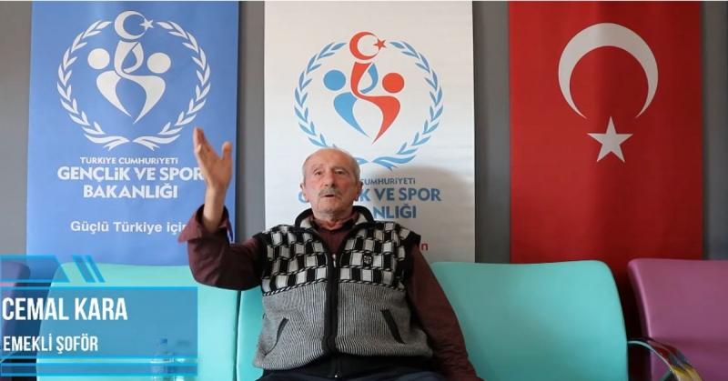 'Ne Mazi Ne Ati' Projesinin 17. Konuğu Emekli Şoför Cemal Kara Oldu