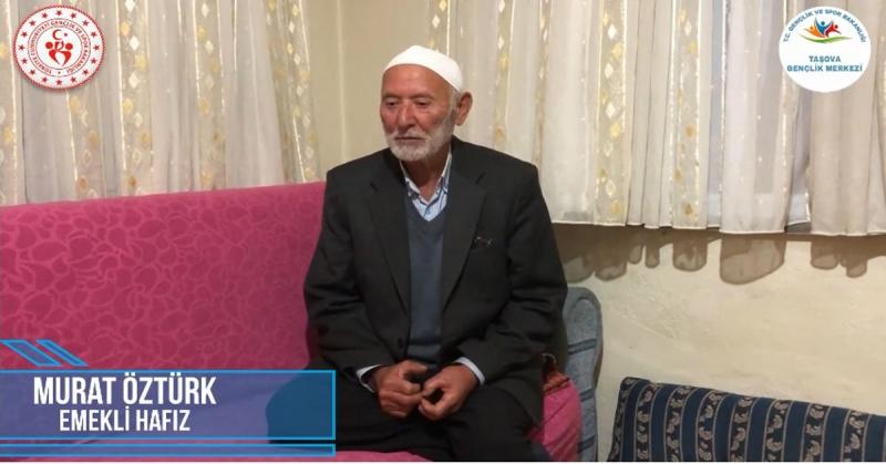 'Ne Mazi Ne Ati' Projesinin 13. Konuğu Emekli Hafız Murat Öztürk Oldu