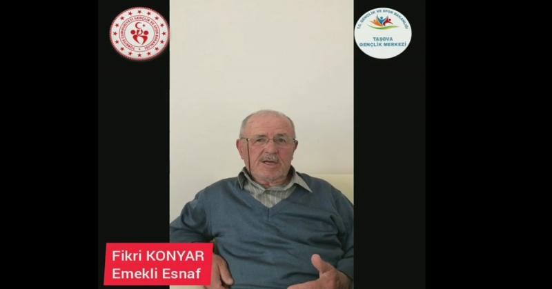 'Ne Mazi Ne Ati' Projesinin 6. Konuğu Emekli Esnaf Fikri Konyar Oldu
