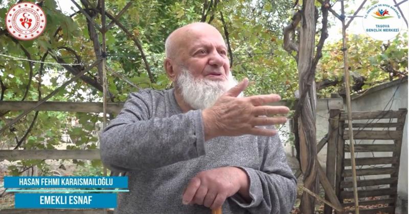 'Ne Mazi Ne Ati' Projesinin 21. Konuğu Emekli Esnaf Hasan Fehmi Karaismailoğlu Oldu
