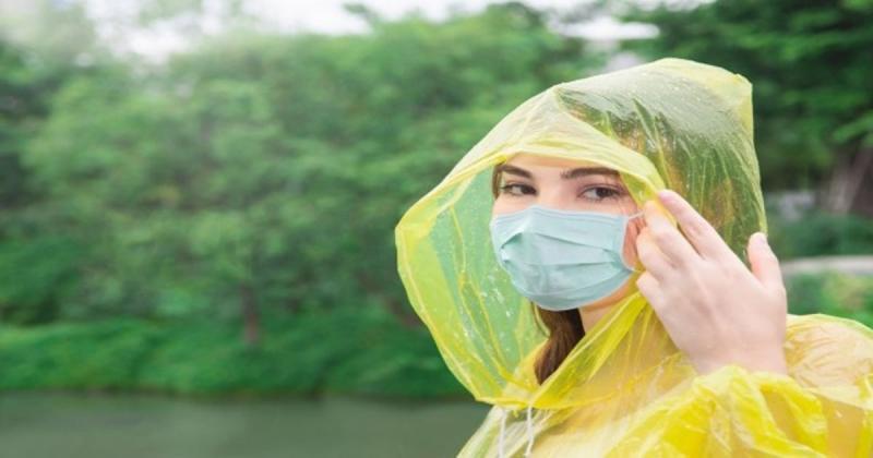 Nergiz; 'Bütün maskeler yağmurla temas ettiğinde koruyuculuğu tamamen gidiyor'
