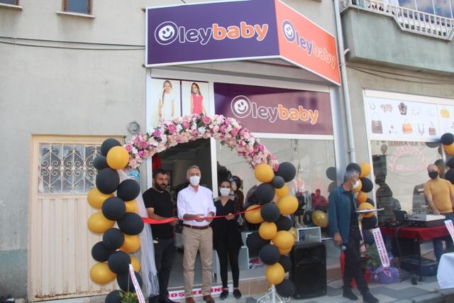 Oley Baby Çocuk Giyim Mağazası Açılışı Yapıldı