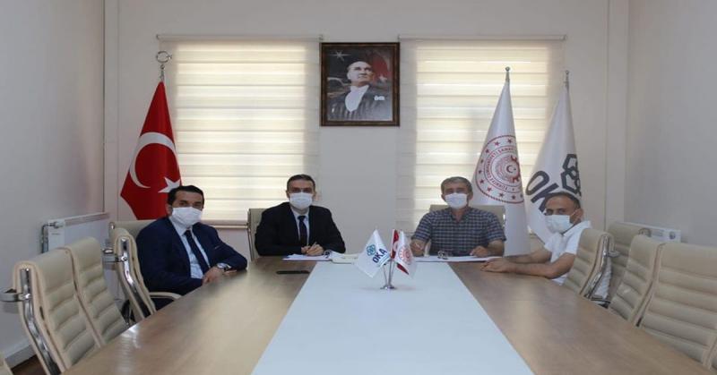 OSB Kurulum Desteği Proje Sözleşmesi İmzalandı