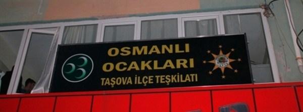 OSMANLI OCAKLARI TAŞOVA İLÇE TEŞKİLATI KURULDU
