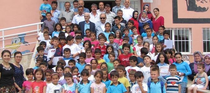 ÖZKAN AĞIŞ  ÖĞRENCİLERİNİ ZİYARET ETTİ..!