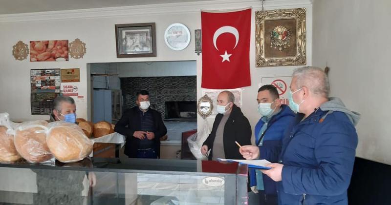 Taşova'da Pandemi Denetimleri Devam Ediyor