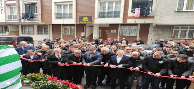 Şahinler Köyü Derneği Kendi Binasına Taşındı