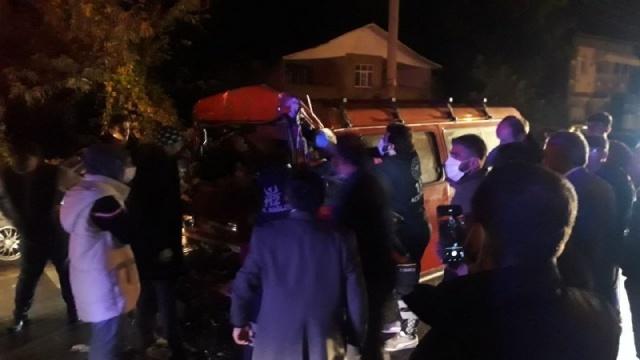 Samsun'da feci kaza! Can pazarı