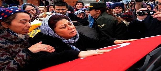 Şehit uzman çavuş Ali Sezai Yalçın'ı, Erbaa'da 10 bin kişi uğurladı