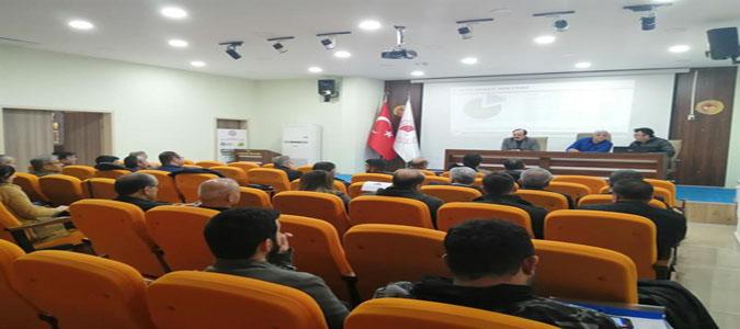 Şeker Pancarı Yetiştiriciliği Konusunda Teknik Personellere Eğitim Toplantısı Düzenlendi