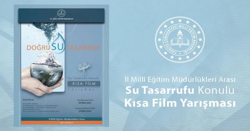 'Su Tasarrufu' Konulu Kısa Film Yarışması