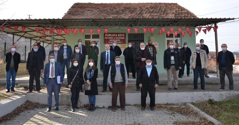 TAŞÇEV Kumluca'da Bilgilendirme Toplantısı Yaptı