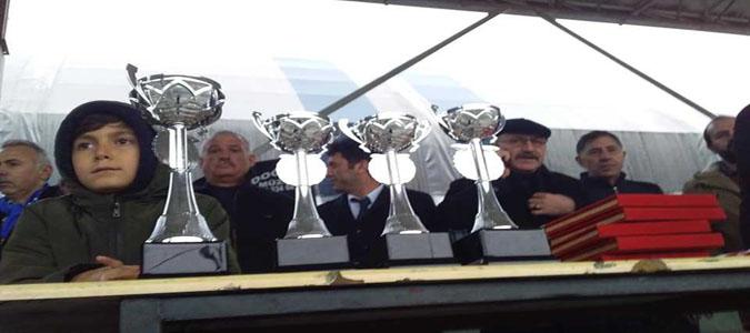 TAŞDEF 2. Abdullah Türköz Futbol Turnuvası'nda Kupa Boraboy'un