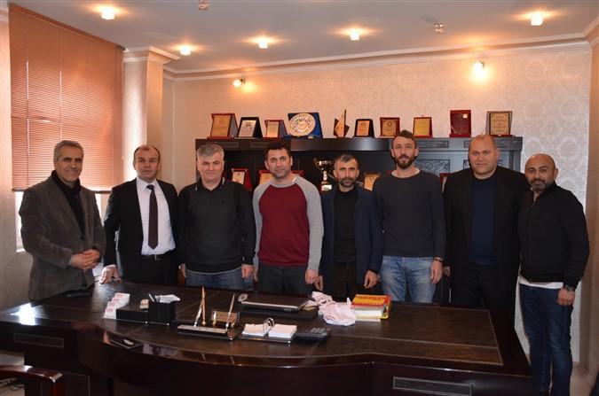 'TAŞDEF' den Ali Rıza AĞIŞ'a Ziyaret