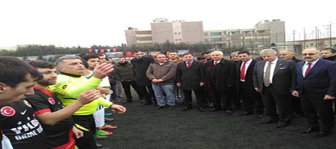 'TAŞDEF' Futbol Turnuvası Başladı