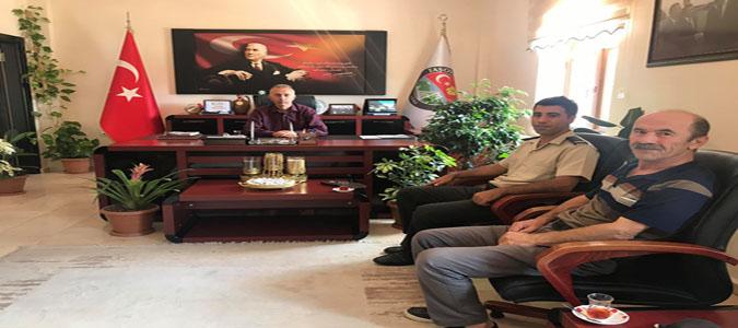 Taşova Askerlik Şube Başkanı Yıldız'dan Başkan Öztürk'e Ziyaret