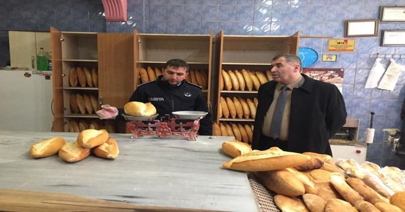 Taşova Belediyesi Zabıta Amirliği Ekipleri,Fırınları Denetledi