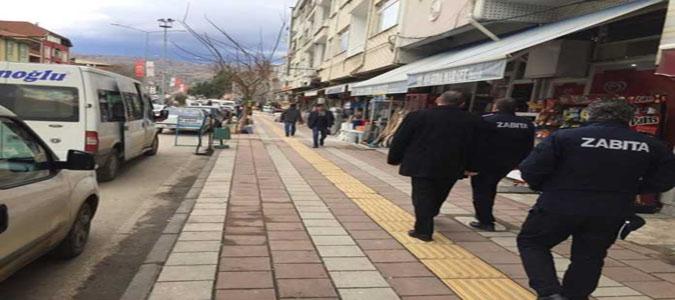 Taşova Belediyesi'nden Kaldırım İşgali Açıklaması