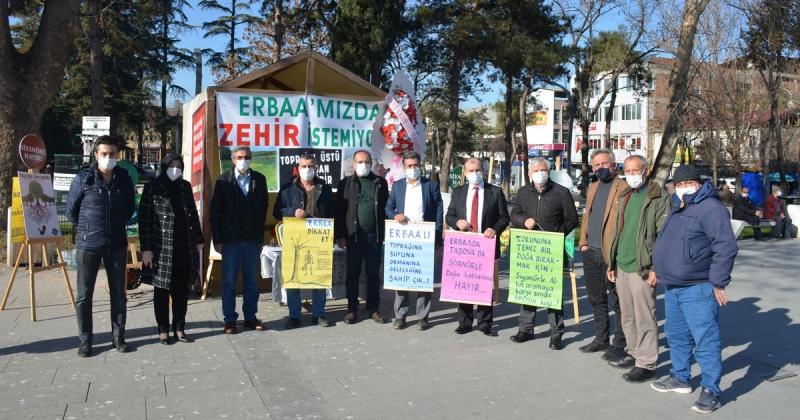 Taşova Çevre Platformundan, Erbaa Çevre Platformu İmza Kampanyasına Destek