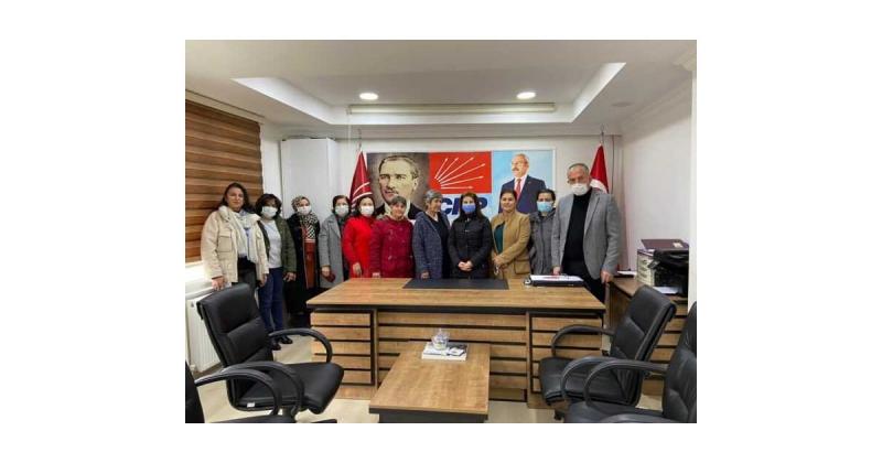Taşova CHP Kadın Kolları Yönetimi Seçildi
