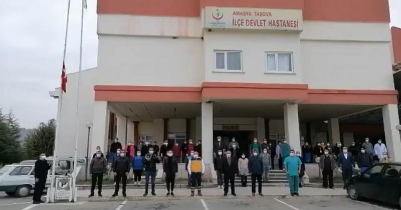 Taşova Devlet Hastanesi 10 Kasım Töreni