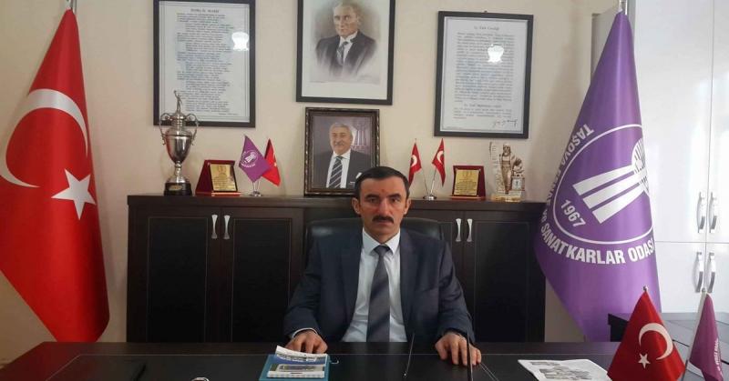 Taşova Esnaf Odası Başkanı Torun'dan Teşekkür