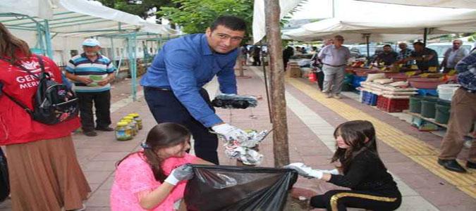 Taşova Gençlik Merkezinden 'Çevre bilinci ve Temizliği' Etkinliği Düzenlendi