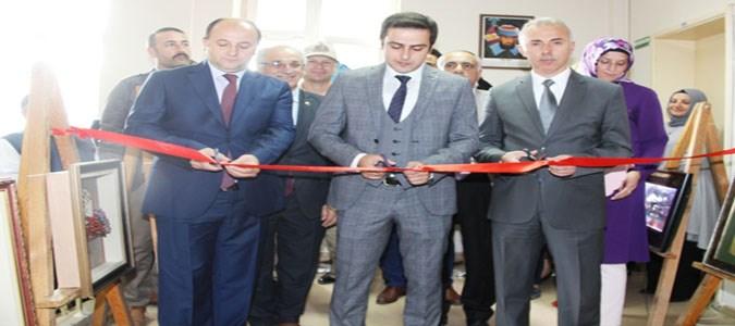 Taşova Halk Eğitim Merkezi Sergi Açılışı Yapıldı