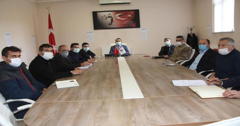 Taşova İlçe Hıfzısıhha Kurulu Toplantısı Gerçekleştirildi