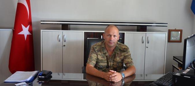Taşova ilçe Jandarma Komutanı Jan. teğmen Ömer Altun görevine başladı
