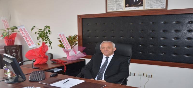 Taşova İlçe Milli Eğitim Şube Müdürlüğüne Vekaleten S.Zeki Gültekin  Atandı