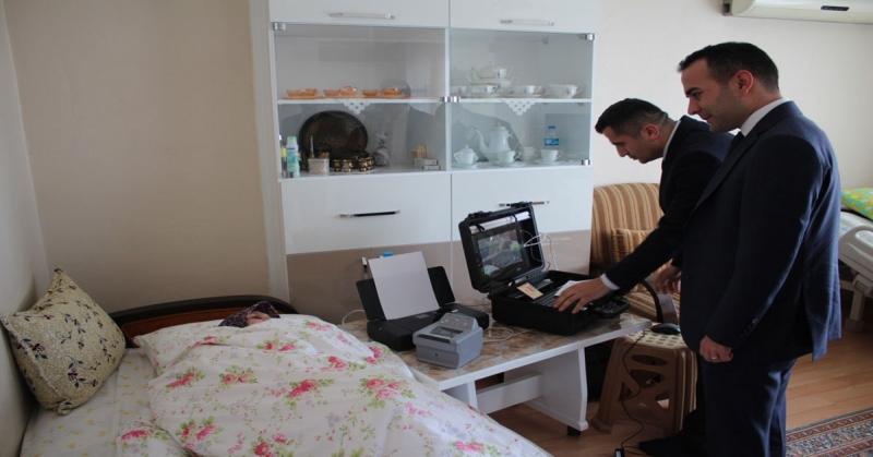 Taşova İlçe Nüfus Müdürlüğü'nde Gezici Kayıt Terminali Hizmete Başladı