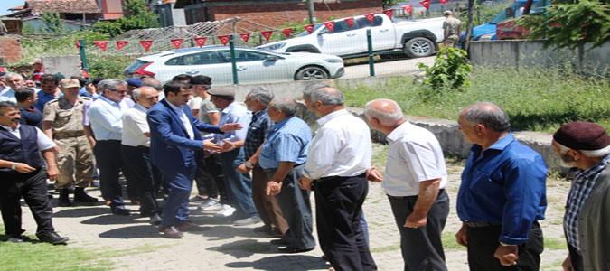 Taşova Kaymakamı Altuntaş'tan Köy Ziyaretleri