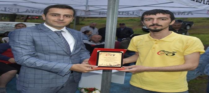 Taşova Kaymakamı Altuntaş Motosiklet Festivaline Katıldı