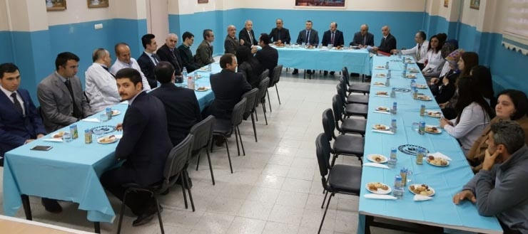 Taşova Kaymakamı Kudret KURNAZ Anadolu Lisesini ziyaret etti