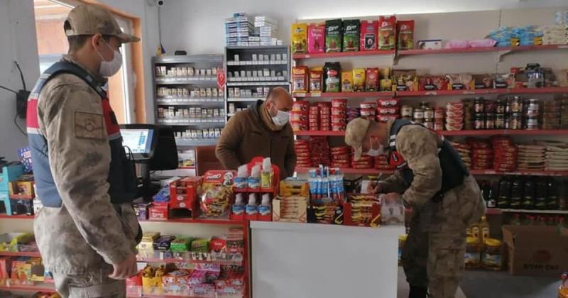 Taşova Merkez ve Köylerde Pandemi Denetimleri Devam Ediyor