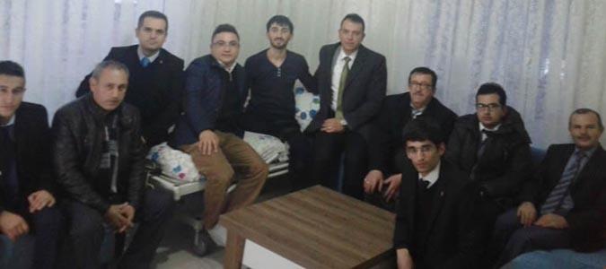 Taşova METEM 'den Serkan  Güney'e Ziyaret