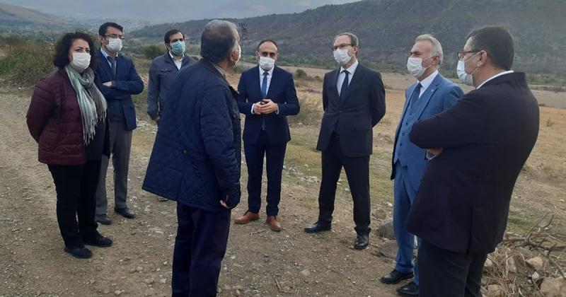 'Taşova Organize Sanayi Bölgesi' Kurulum Çalışmaları Devam Ediyor