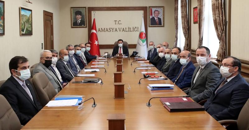 Taşova OSB'nin ilk Müteşebbis Heyeti ve Yönetim Kurulu Toplantıları Gerçekleştirildi