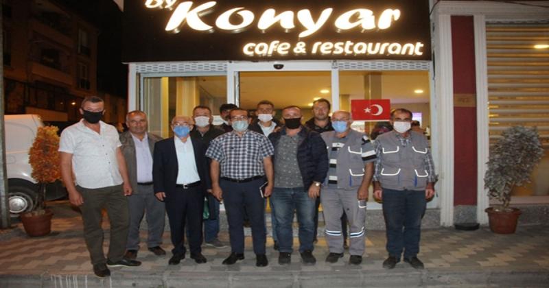 Taşova Özel İdare Müdürü Saykal'a Veda Yemeği Düzenlendi